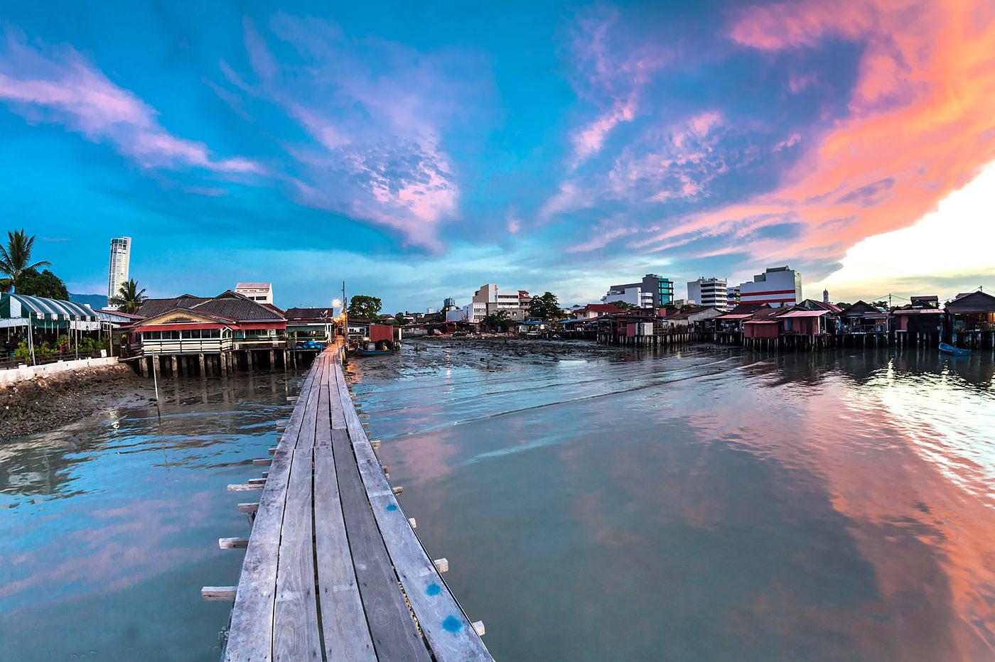 槟城姓氏家族码头