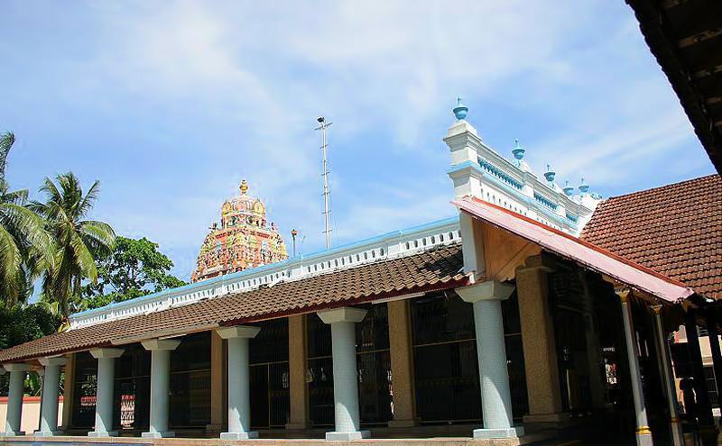 Nattukottai Chettiar兴都庙,建立于1854年