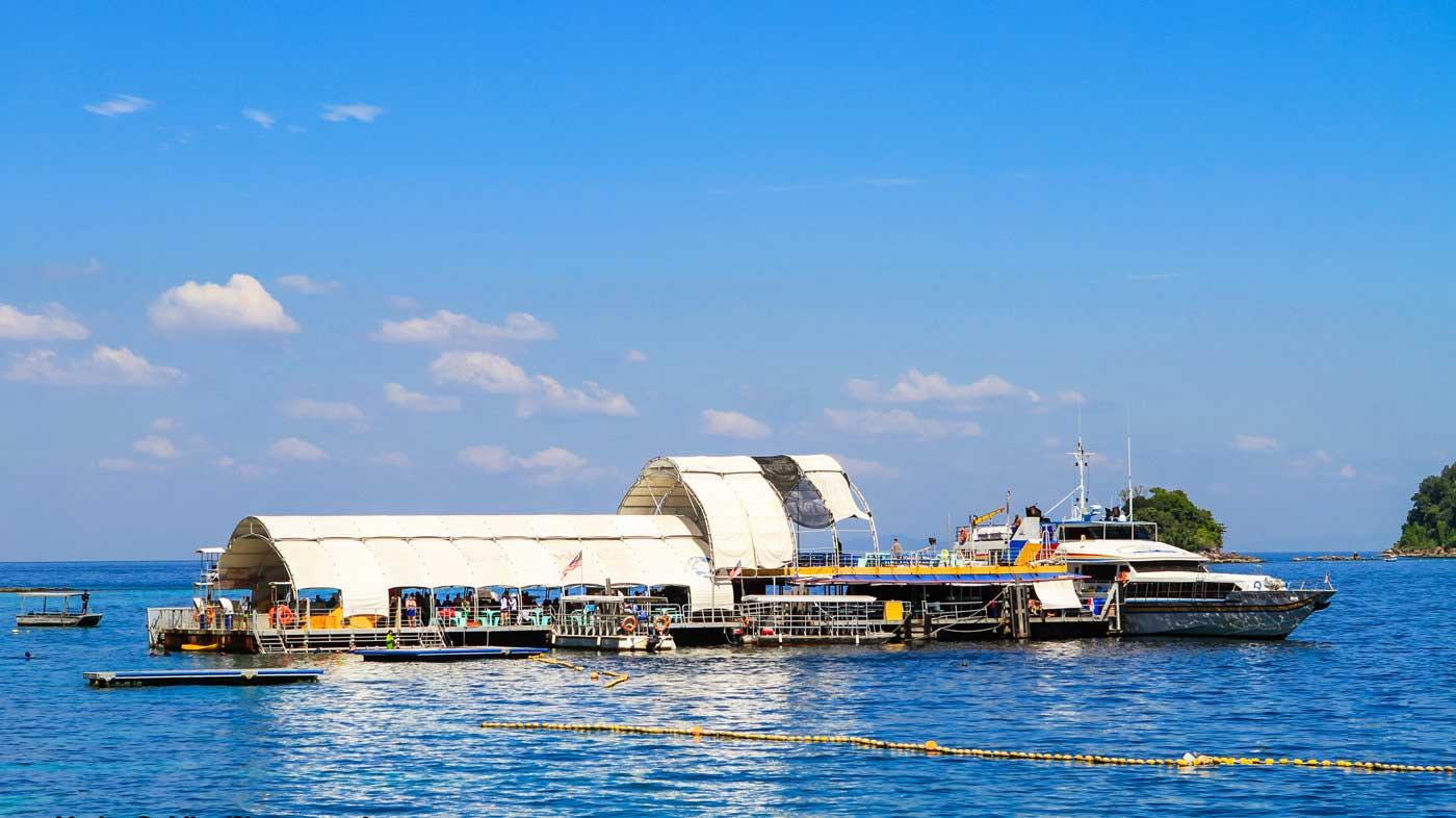 Payar Island Snorkeling Platform