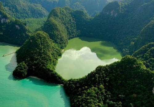 Pregnant Maiden Lake Langkawi island hopping